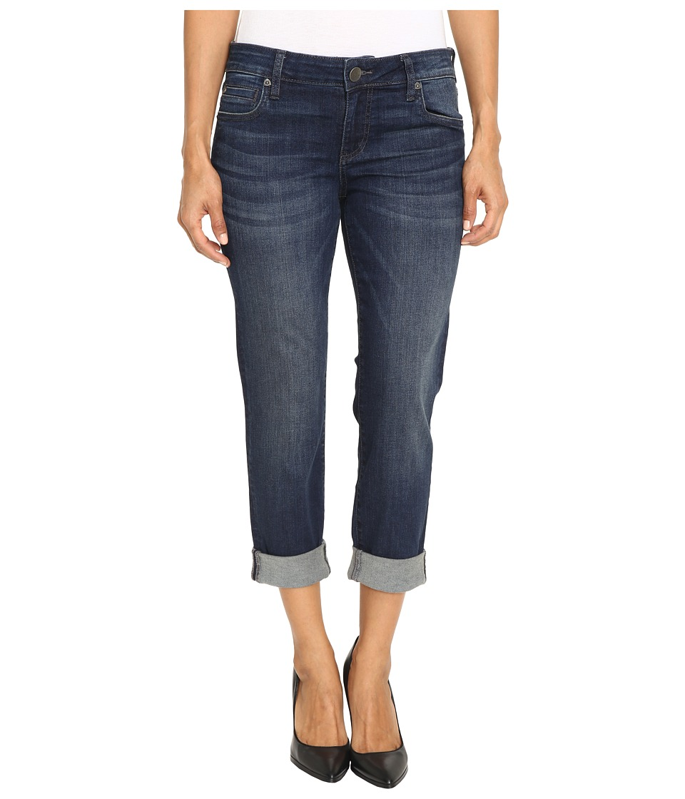 KUT from the Kloth - Petite Catherine Boyfriend Jeans in Carefulness (Carefulness) Women's Jeans