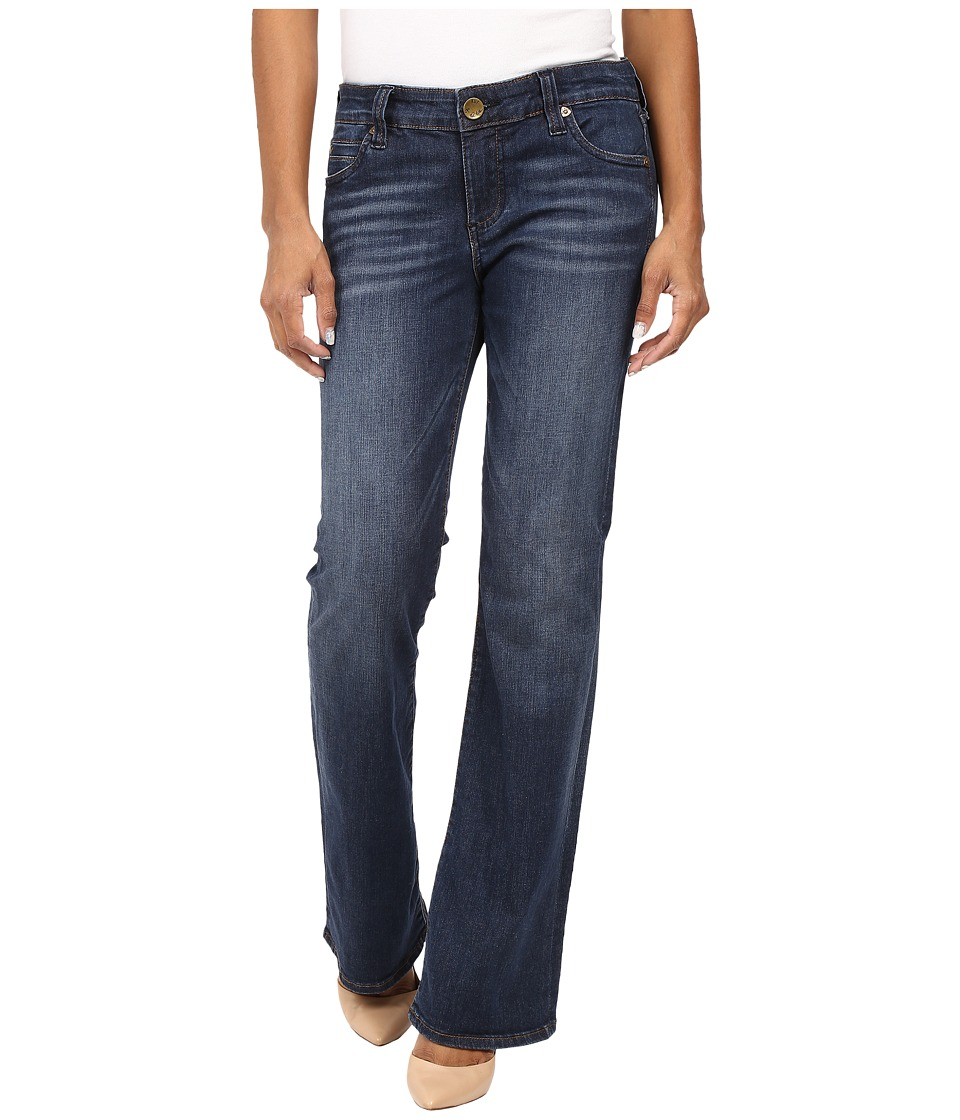 KUT from the Kloth - Petite Natalie High-Rise Bootcut Jeans in Adaptive (Adaptive) Women's Jeans