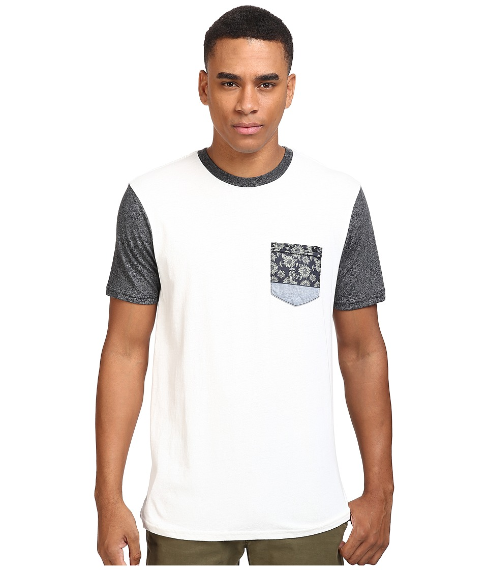Rip Curl - Glasser Custom Tee (Off-White) Men's T Shirt