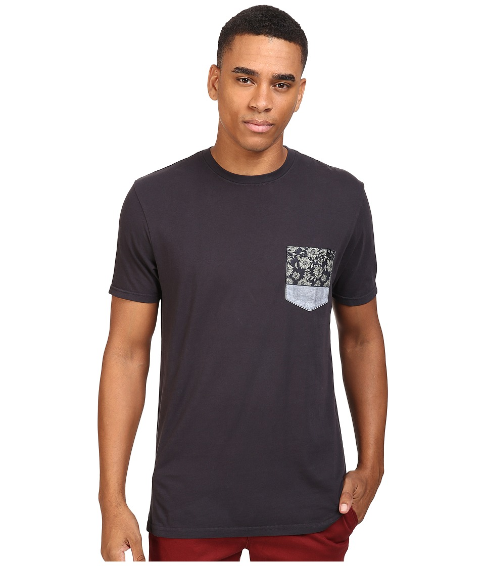 Rip Curl - Primal Custom Tee (Charcoal) Men's T Shirt