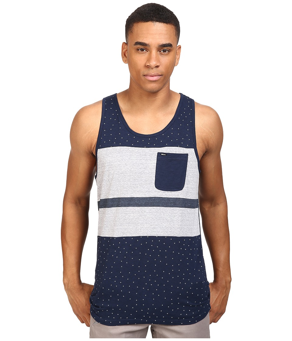 Rip Curl - Legend Tank Top (Navy) Men's Sleeveless