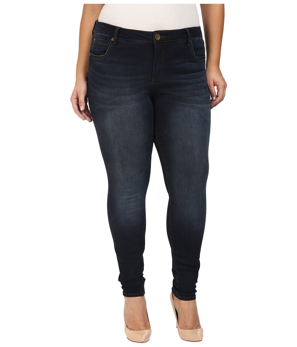 KUT from the Kloth - Plus Size Diana Skinny Jeans in Brisk (Brisk) Women's Jeans