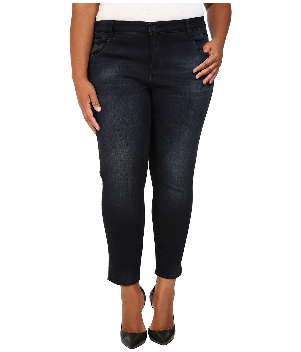 KUT from the Kloth Plus Size Crop Skinny Jeans in Refresh (Refresh) Women