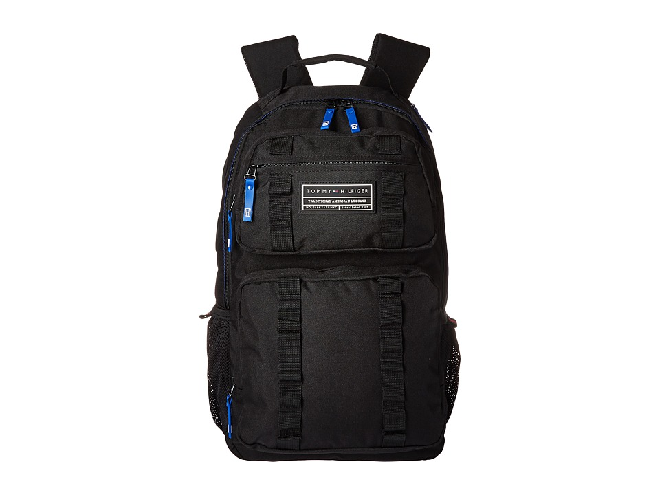 Tommy Hilfiger - Kenya Backpack (Black) Backpack Bags