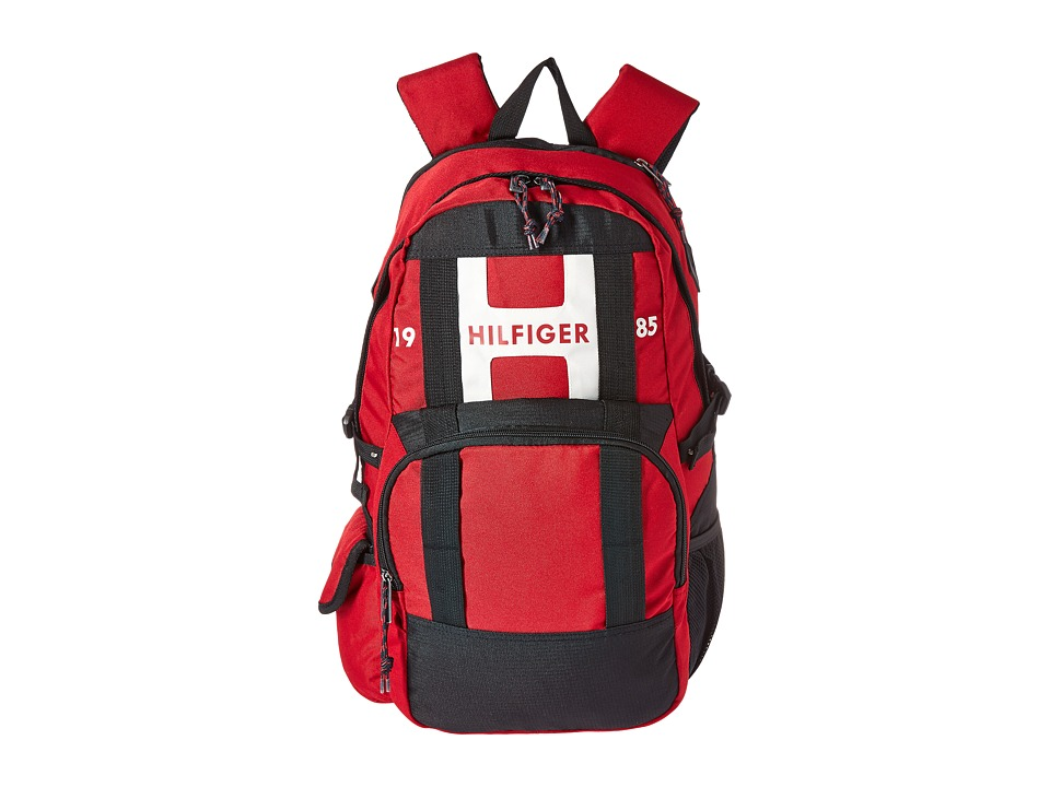 Tommy Hilfiger - Raider Backpack (Red) Backpack Bags