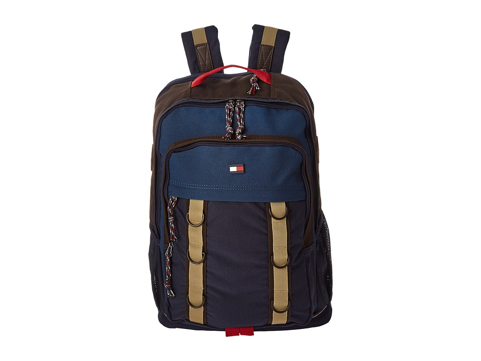 Tommy Hilfiger - TH-142 Backpack (Blue) Backpack Bags