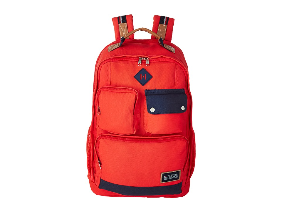 Tommy Hilfiger - TH-141 Backpack (Orange) Backpack Bags