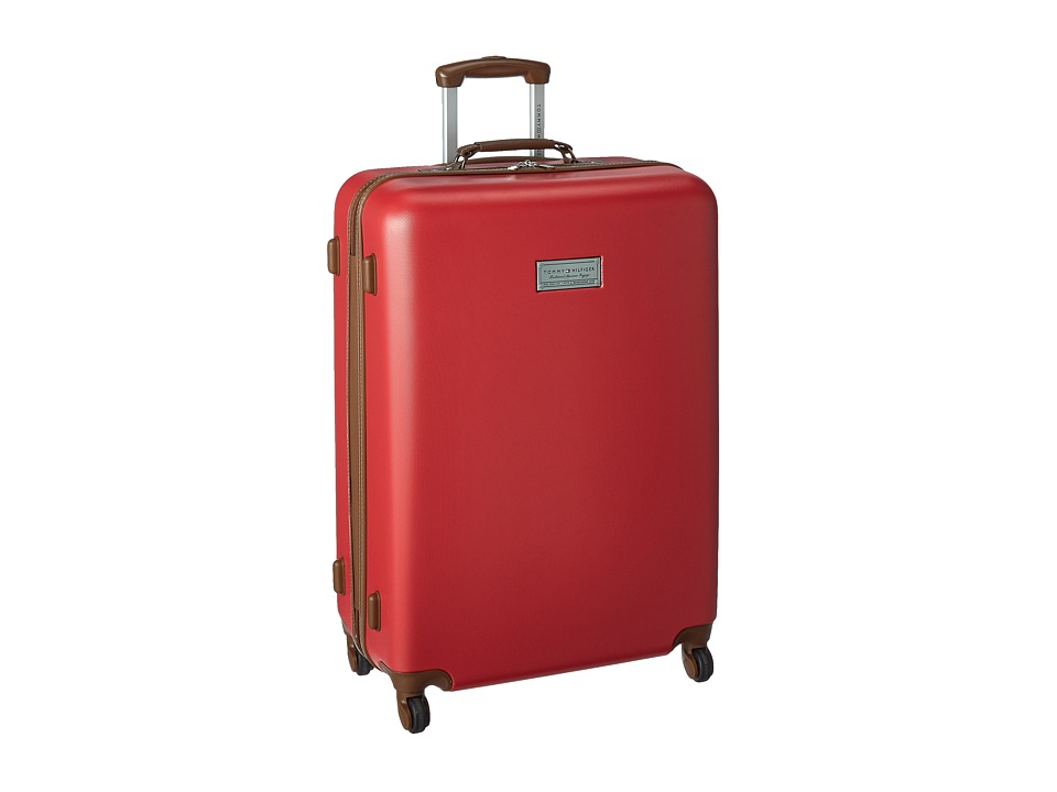 Tommy Hilfiger - Wilshire 28 Upright Suitcase (Red) Luggage