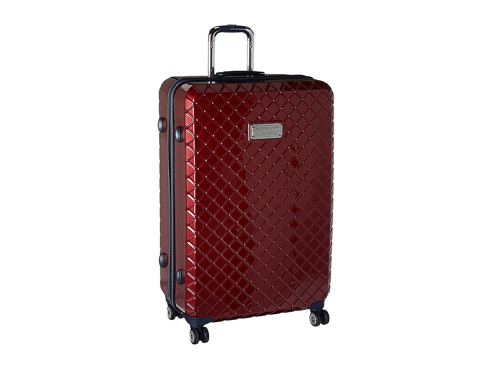 Tommy Hilfiger - Presley 28 Upright Suitcase (Wine) Luggage