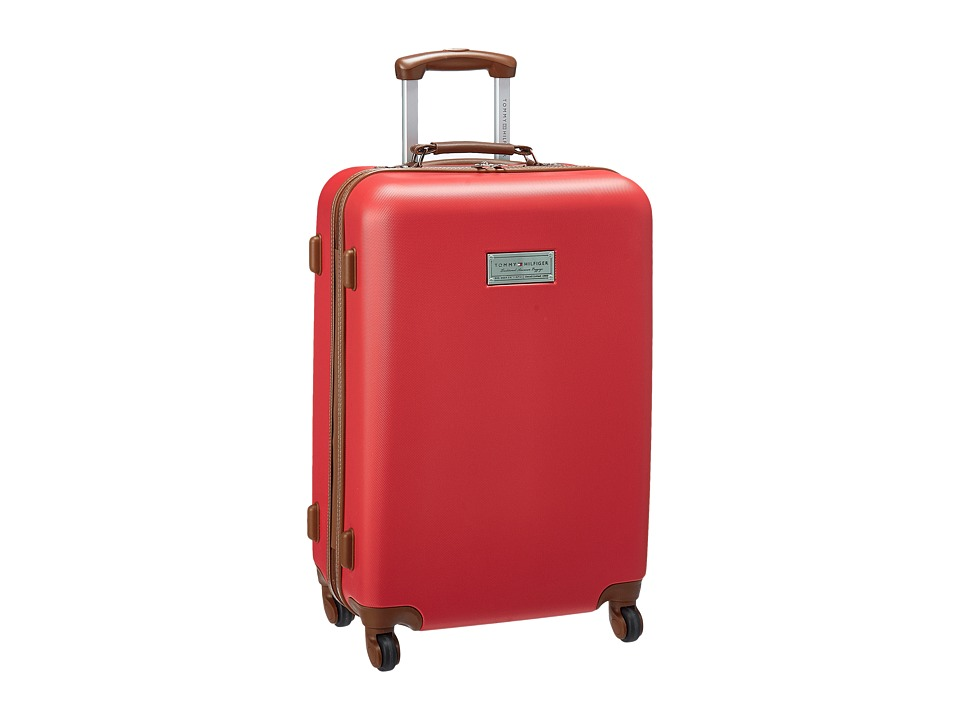 Tommy Hilfiger - Wilshire 24 Upright Suitcase (Red) Luggage