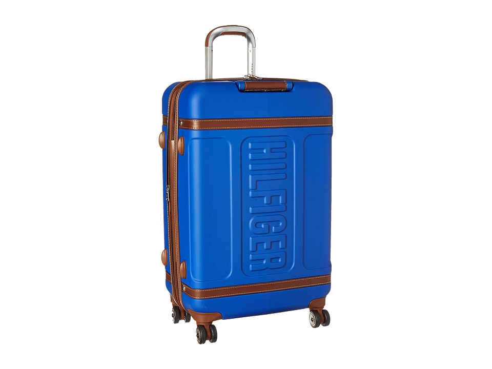 Tommy Hilfiger - Genesis 25 Upright Suitcase (Blue) Luggage