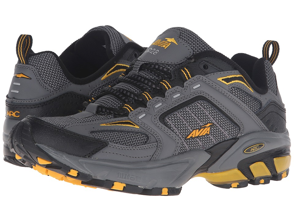 Avia A6028M (Dark Grey/Black/Yellow) Men