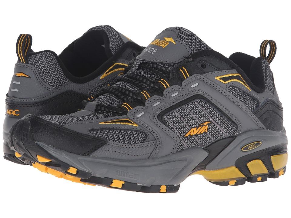 Image of Avia - A6028M (Dark Grey/Black/Yellow) Men's Shoes