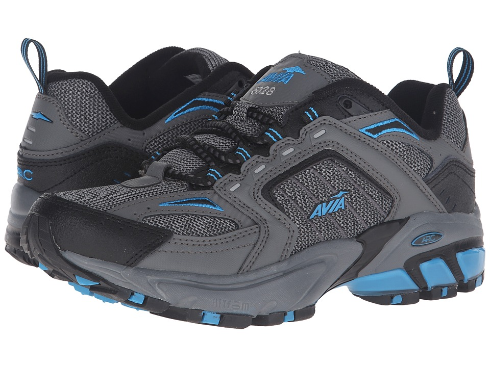 Avia - A6028M (Dark Grey/Blue) Women's Shoes