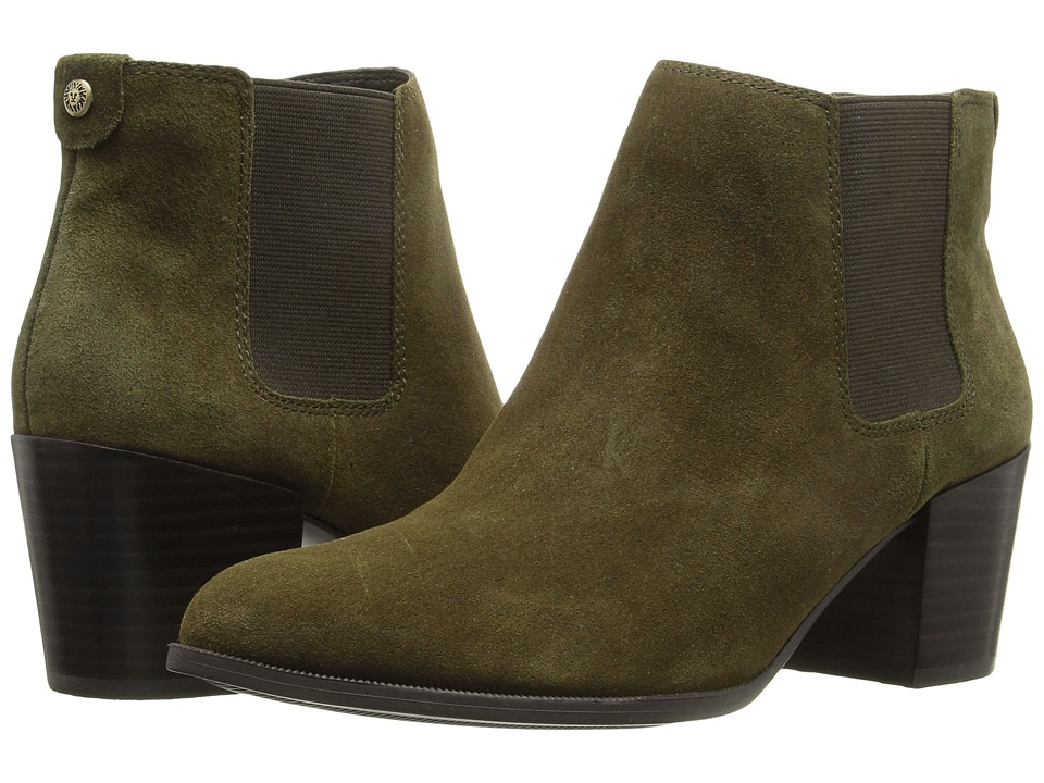 Anne Klein - Geordanna (Medium Green/Medium Green Suede) Women's Shoes