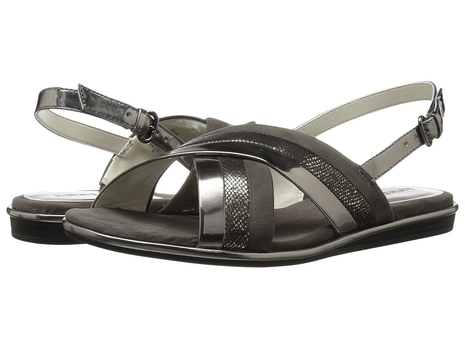 Anne Klein Galea (Dark Pewter Multi Synthetic) Women