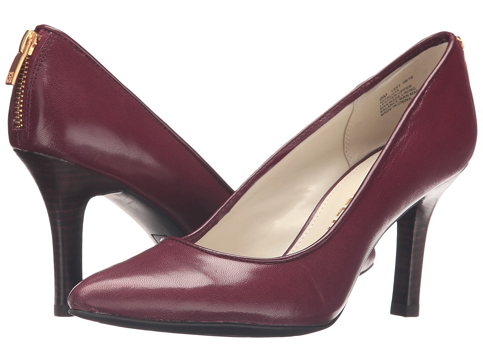 Anne Klein - Falicia (Wine/Wine Leather) High Heels