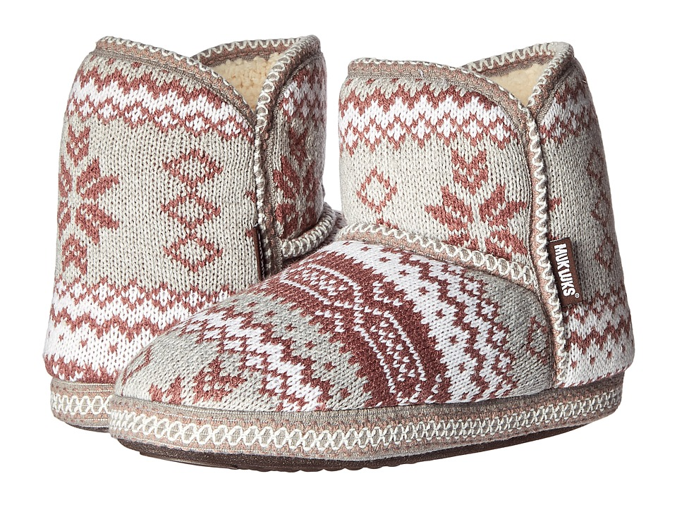 MUK LUKS - Short Boot (Marled Rustic Lodge) Women's Pull-on Boots
