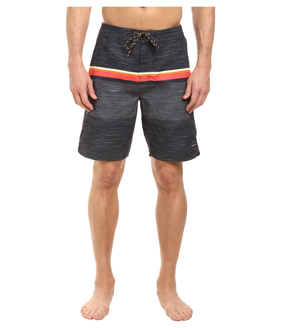 Rip Curl - Beachers Boardshorts (Black) Men's Swimwear