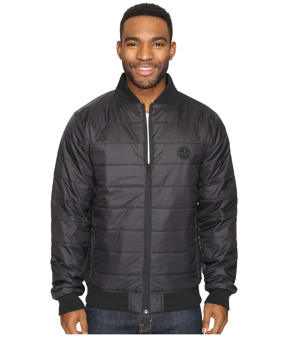 Rip Curl - Away Anti Insulated Jacket (Black) Men's Coat