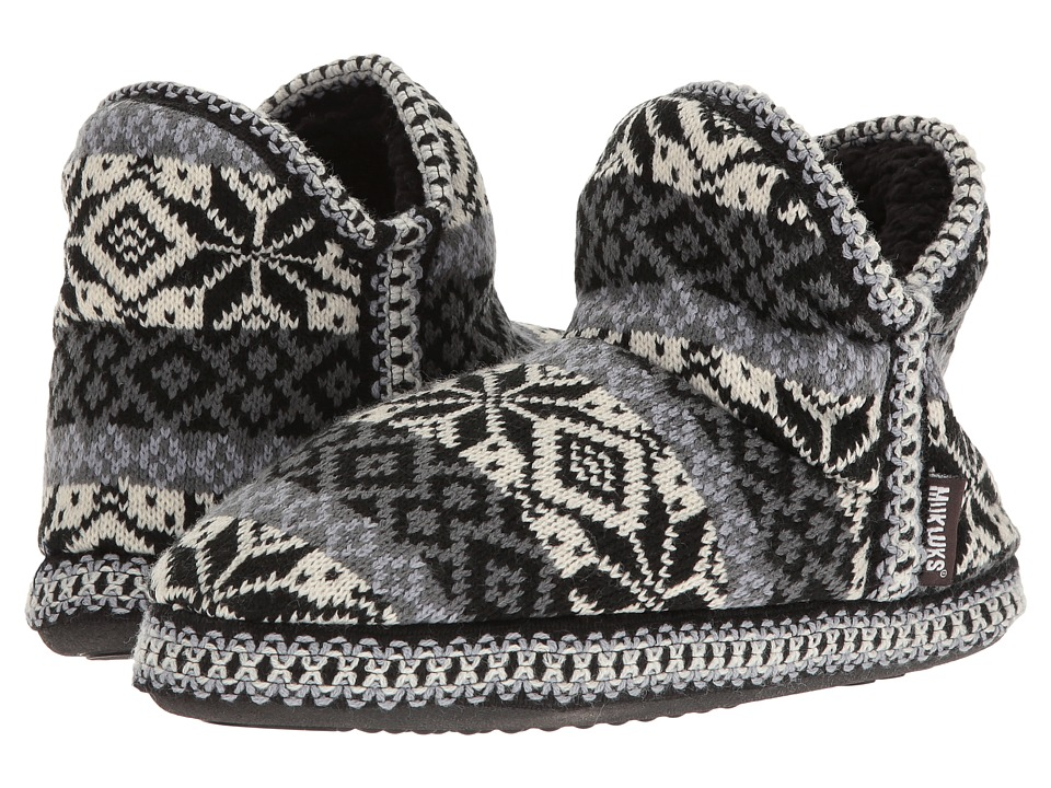 MUK LUKS - Amira Nordic (Folk Stripe Snow) Women's Pull-on Boots