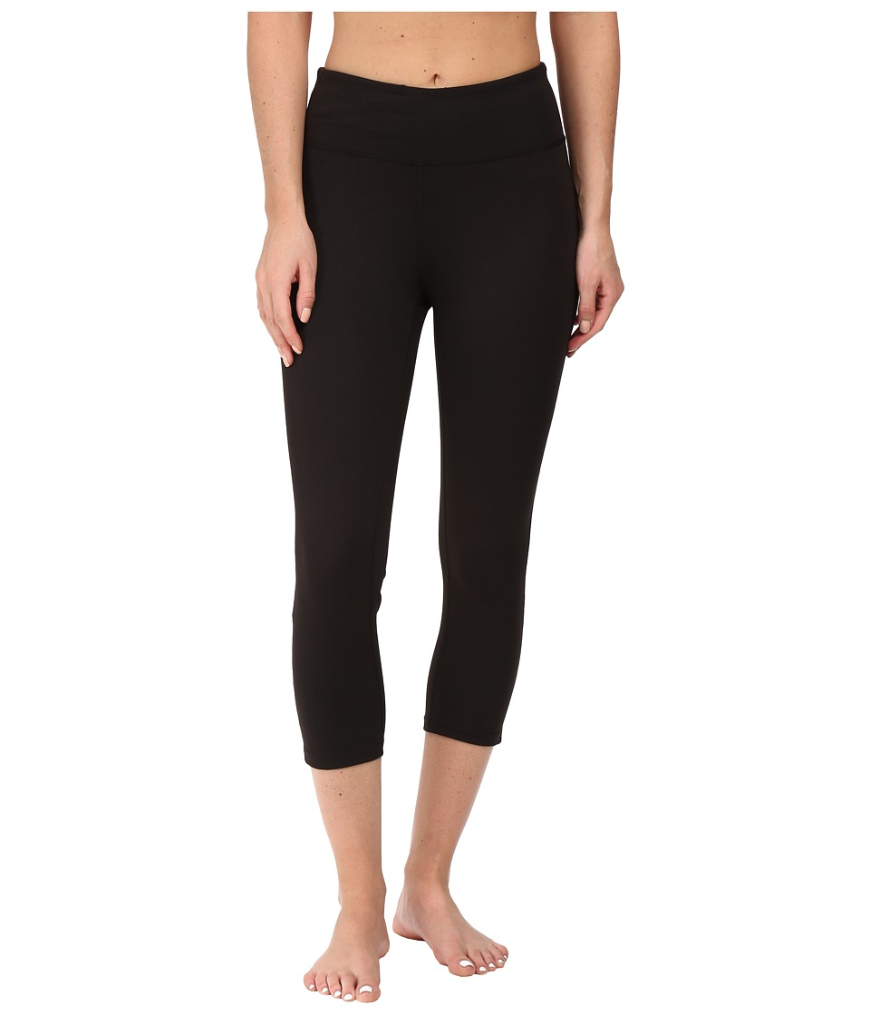 Soybu Steel Core Capris (Black) Women