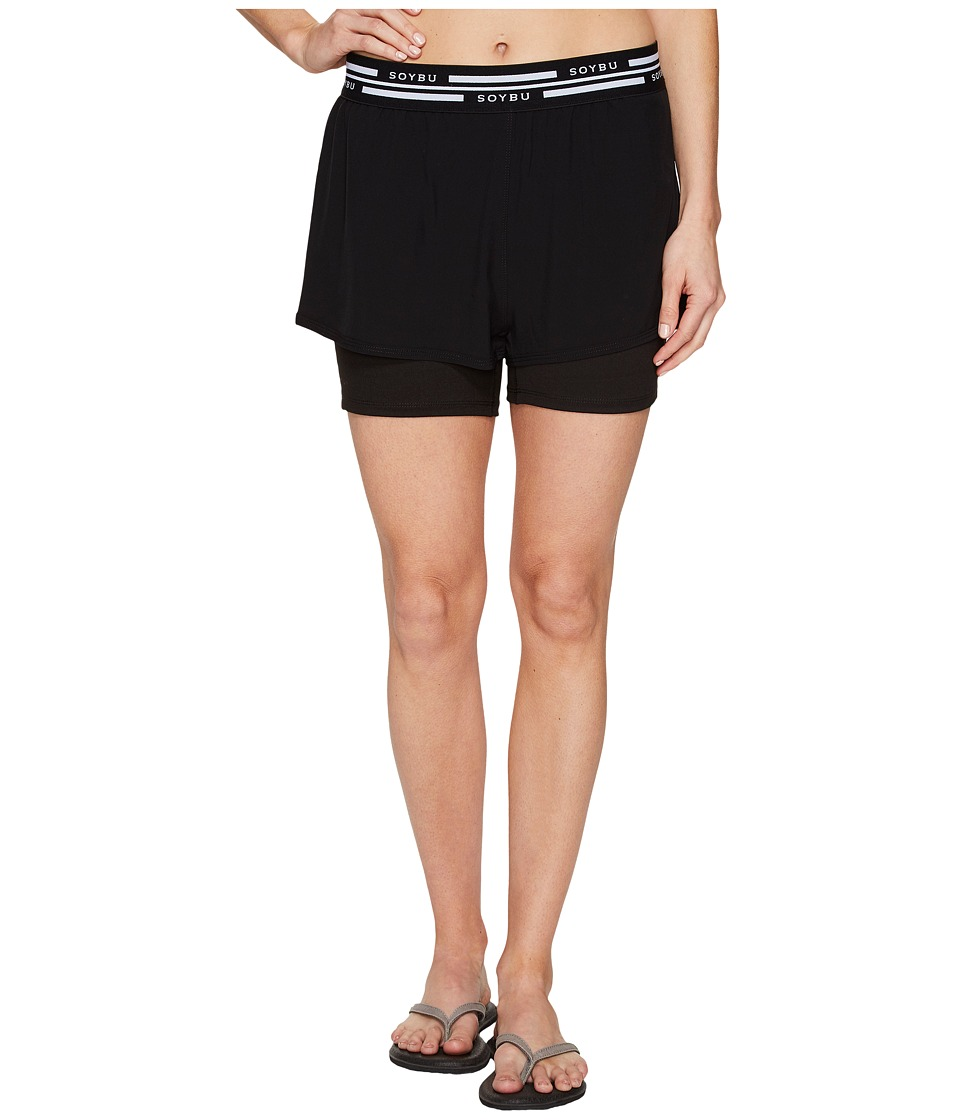 Soybu - Fixie Shorts (Black) Women's Shorts