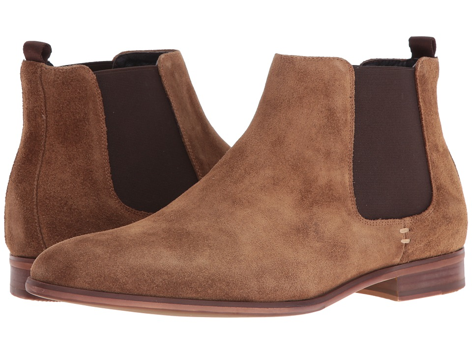 Dune London - Marsden (Tan Suede) Men's Lace-up Boots