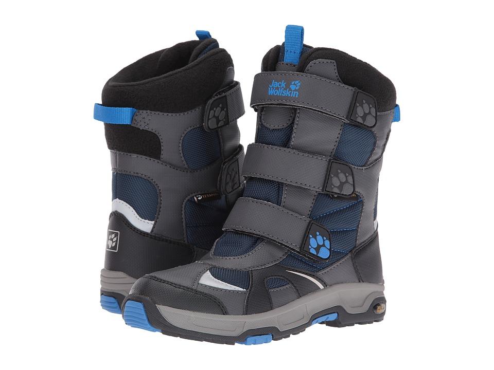 Jack Wolfskin Kids - Snow Diver Waterproof (Toddler/Little Kid/Big Kid) (Night Blue) Boy's Shoes