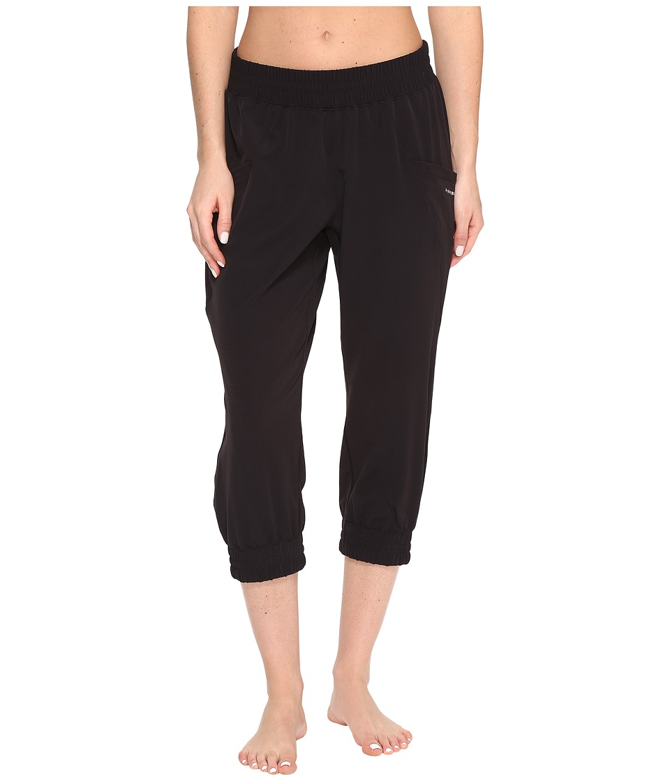Soybu Skim Capris (Black) Women