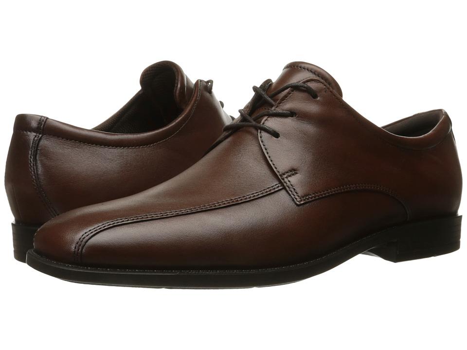 ECCO - Edinburgh Modern Tie (Mink) Men's Shoes