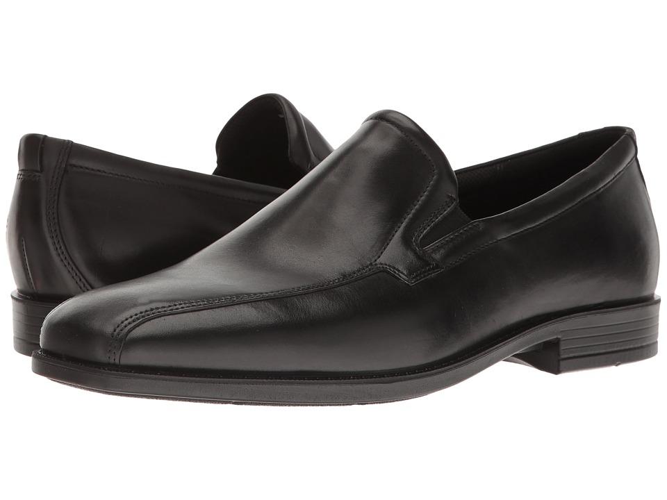 ECCO - Edinburgh Modern Slip On (Black) Men's Shoes