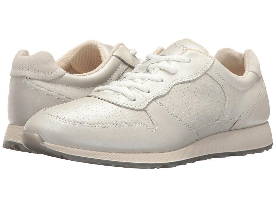 ECCO - Sneak (White/Shadow White) Women's Shoes
