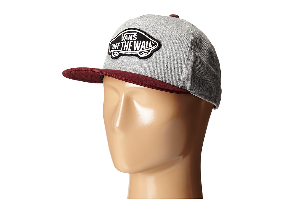 Vans - Classic Patch Snapback Hat (Heather Grey/Port Royale) Caps