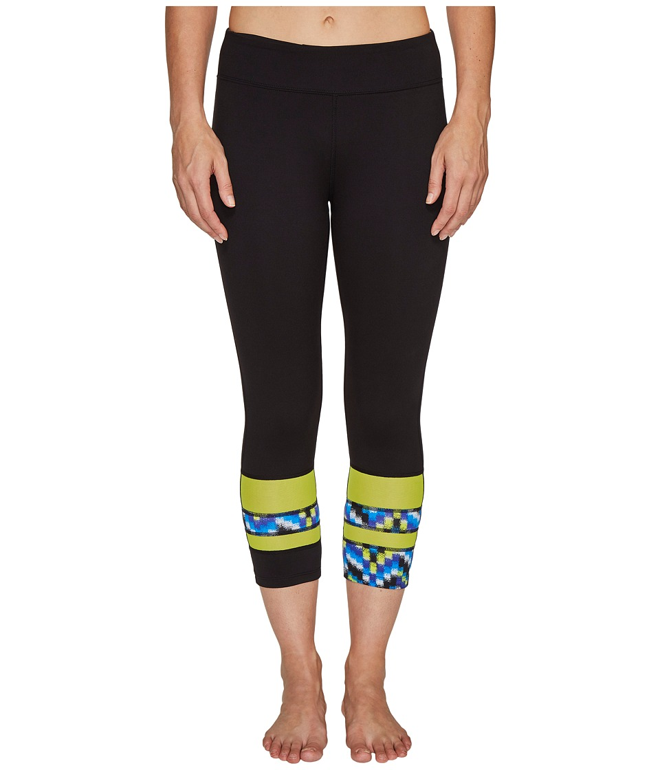 Soybu - Long Board Capris (Amp Wave) Women's Capri