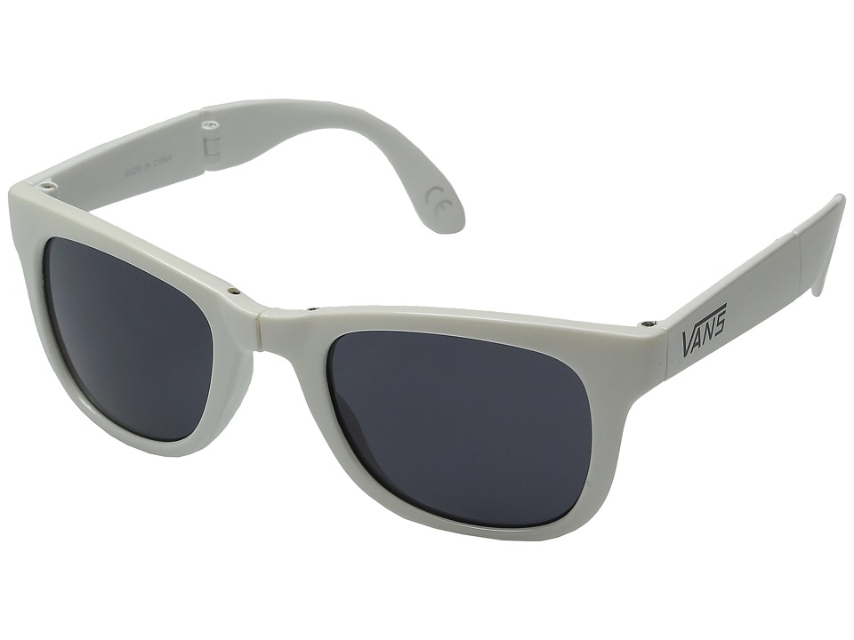 Vans - Foldable Spicoli Shades (Marshmallow Gloss) Sport Sunglasses