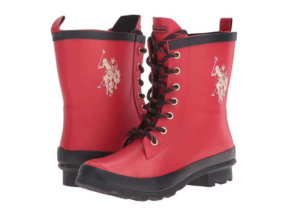 U.S. POLO ASSN. Jacky (Red/Cream/Black) Women