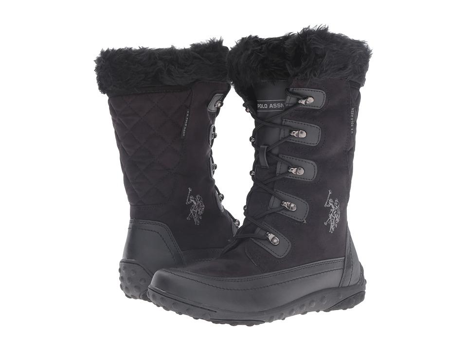 U.S. POLO ASSN. - Abbey (Black) Women's Boots