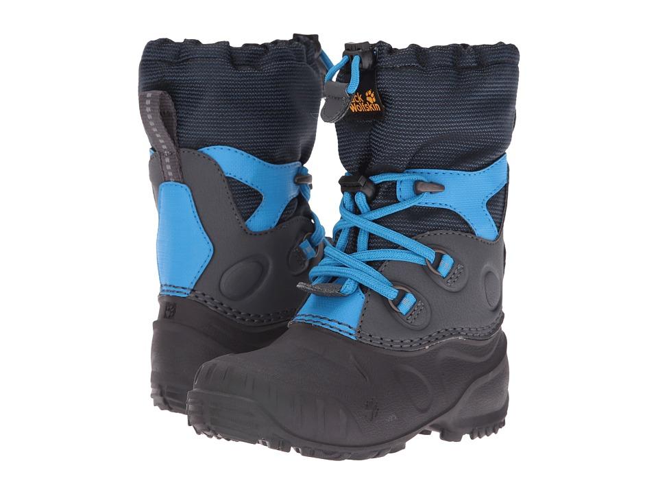 Jack Wolfskin Kids - Iceland Passage High (Toddler/Little Kid/Big Kid) (Dark Sky) Kids Shoes