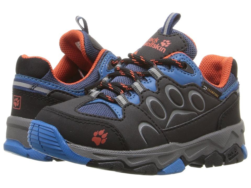 Jack Wolfskin Kids - Mountain Attack 2 Waterproof Low (Toddler/Little Kid/Big Kid) (Glacier Blue) Kid's Shoes