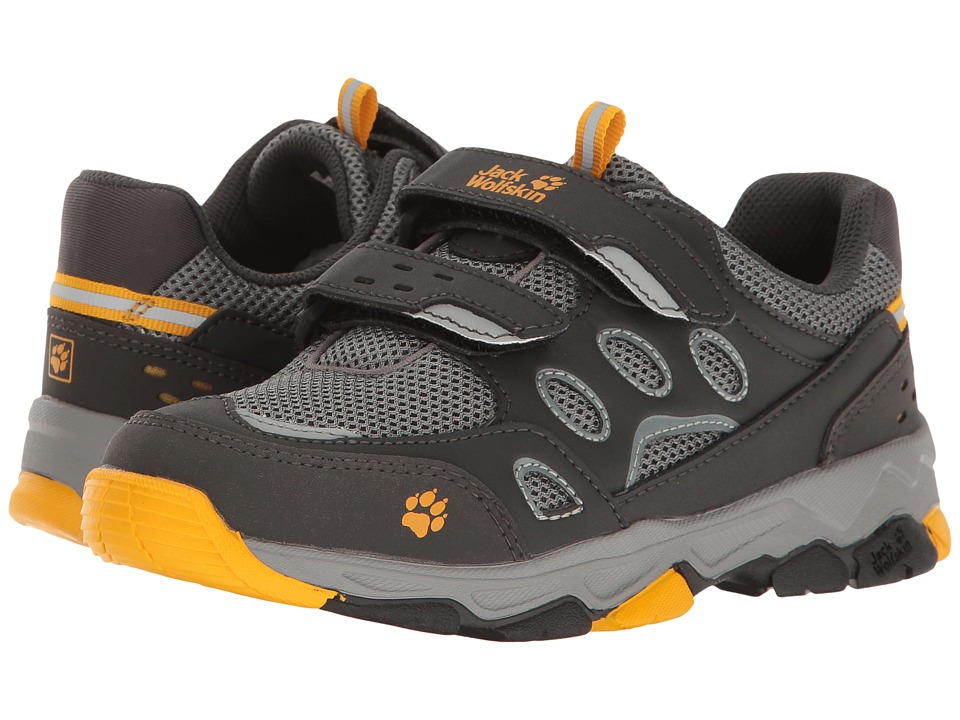 Jack Wolfskin Kids - Mountain Attack 2 Low VC (Toddler/Little Kid/Big Kid) (Burly Yellow) Kids Shoes