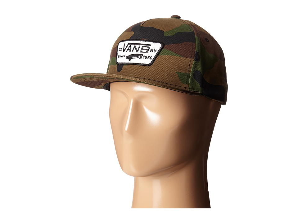 Vans - Full Patch Snapback (Classic Camo) Caps