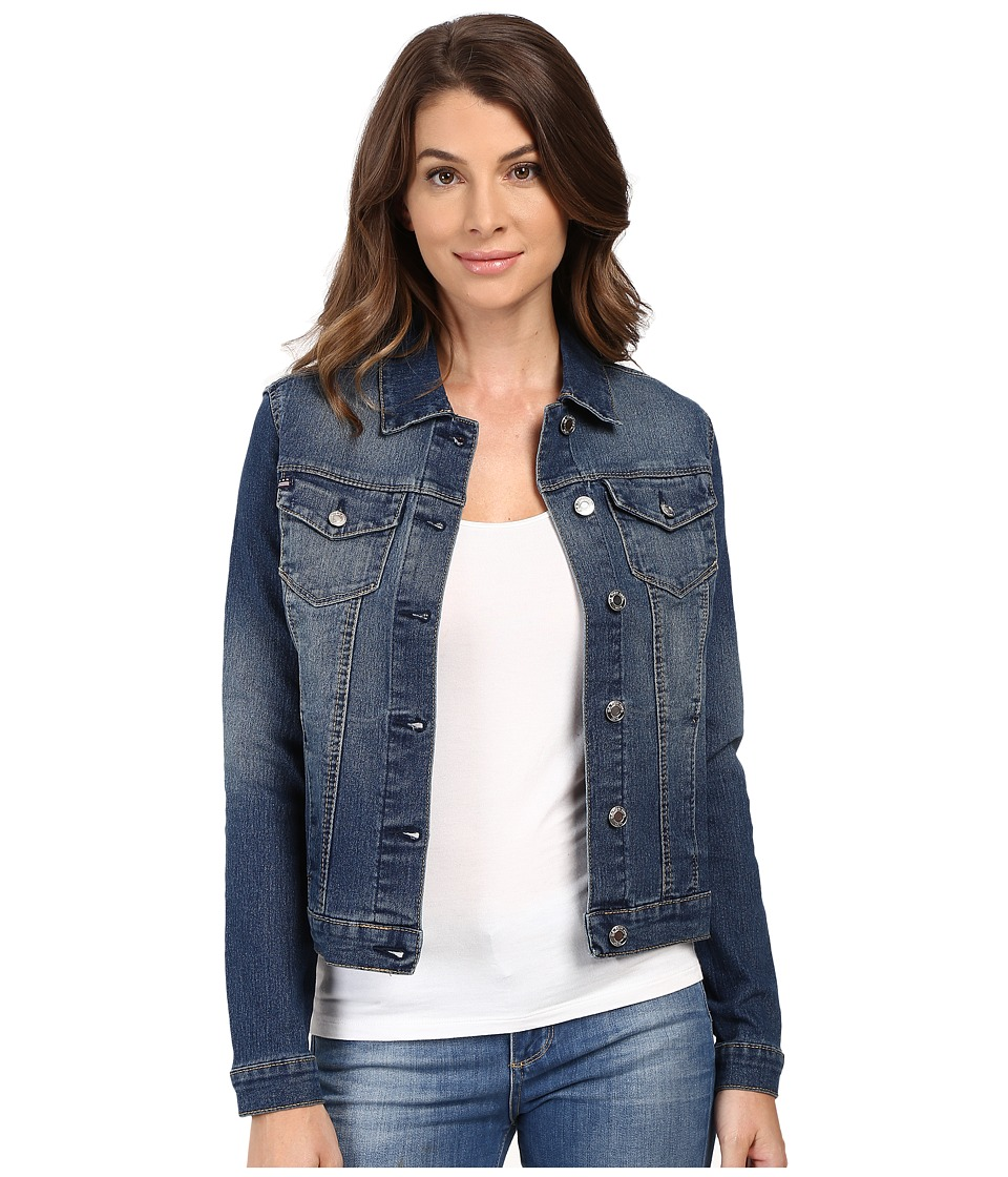 U.S. POLO ASSN. - Denim Jean Jacket (Dark Vintage) Women's Coat