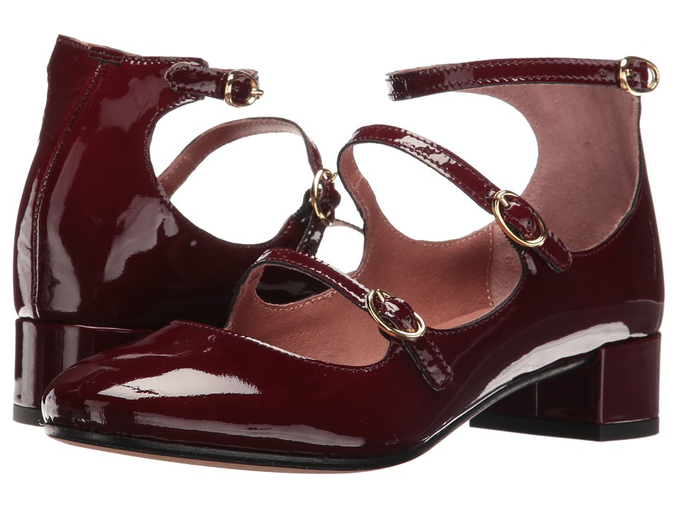 Summit by White Mountain Myrlie (Burgundy Patent Leather) Women