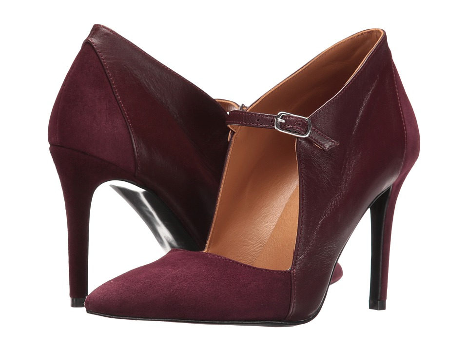Summit by White Mountain Cecilie (Bordeaux Suede) Women