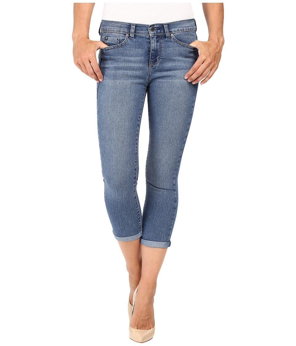 U.S. POLO ASSN. - Twill Darlington Skinny Capri Jeans in Mid Vintage (Mid Vintage) Women's Jeans