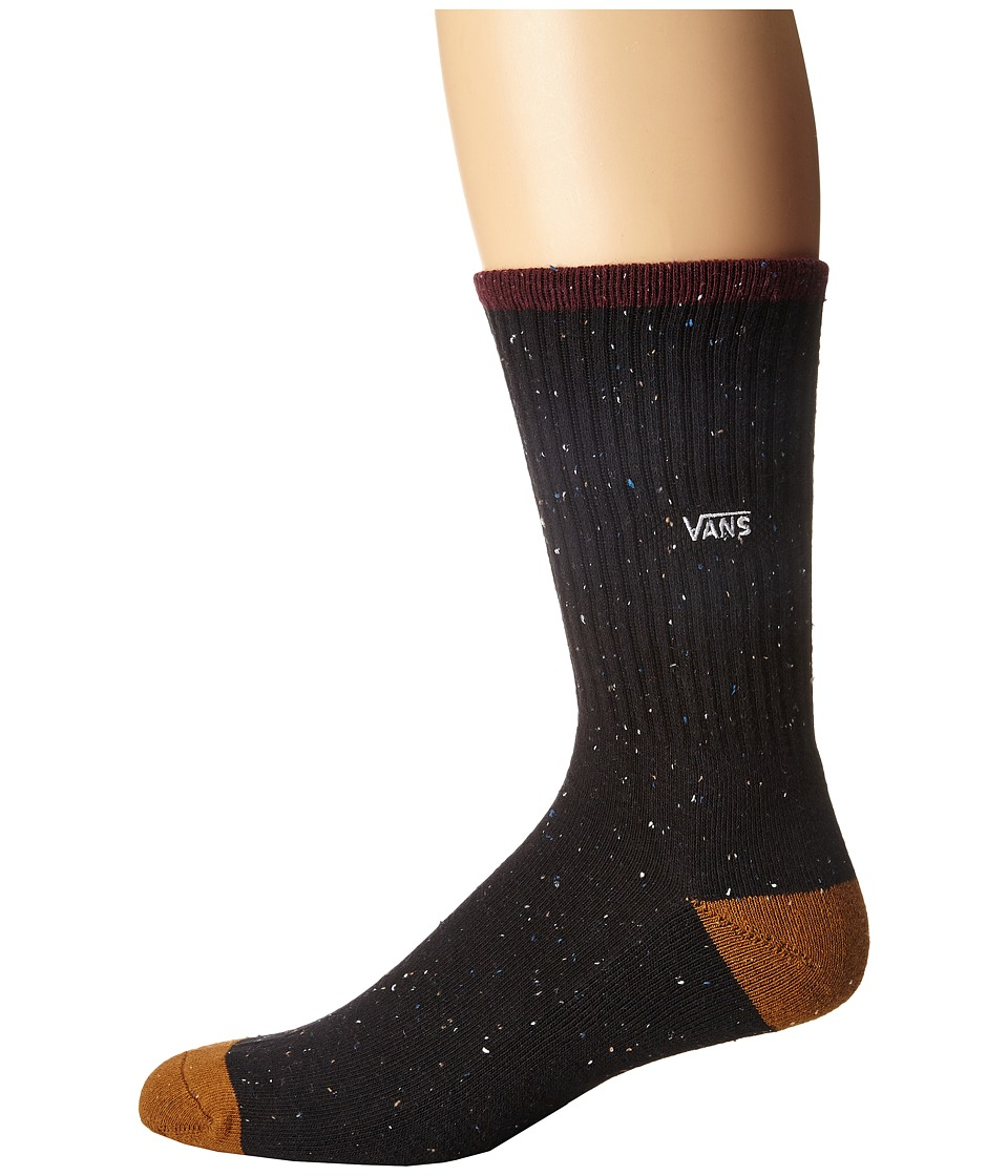 Vans - Neptune Crew Socks (Black) Men's Crew Cut Socks Shoes