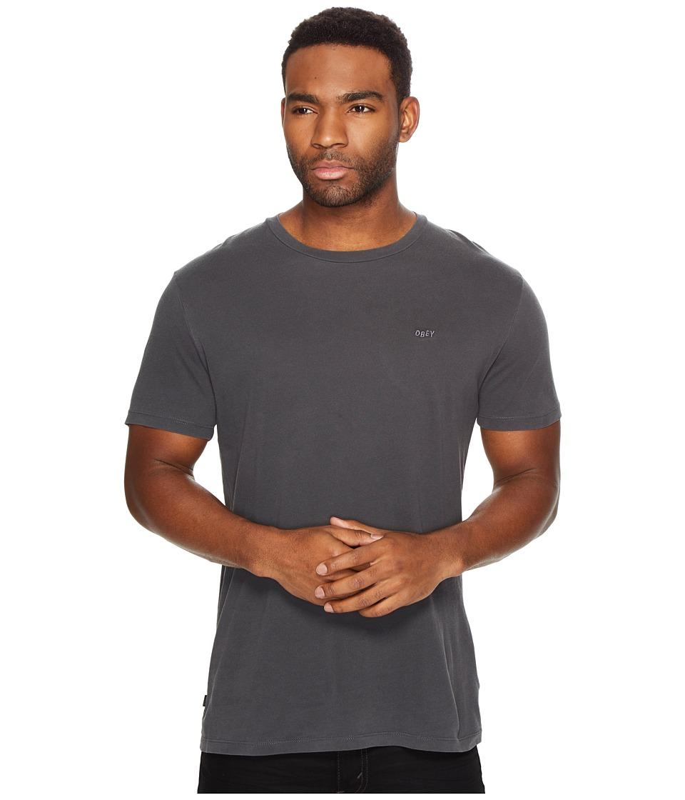 Obey - Jumbled Short Sleeve Pigment Tee (Black) Men's T Shirt