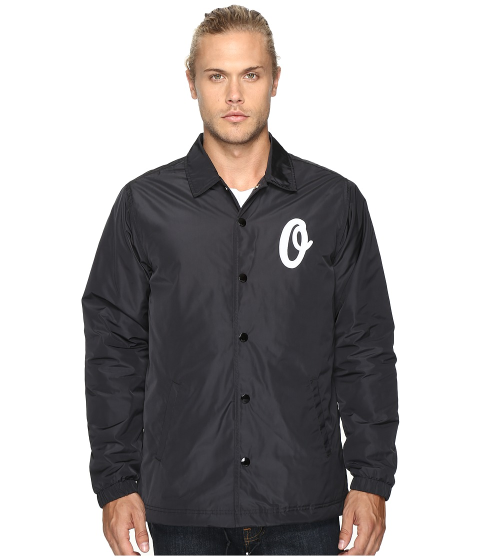 Obey - Sanders Coaches Jacket (Black) Men's Coat