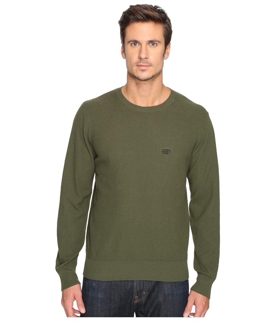 Obey - New Times Drifter Sweater (Army) Men's Sweater
